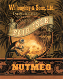 Nutmeg Prints by Pamela Gladding