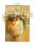 Flowers in a Pot II Plakater av Willem Haenraets