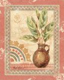 Palmier de fresque II Posters par Pamela Gladding