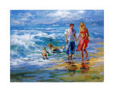 Happy Family II Posters by Willem Haenraets