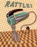 Nifty Fifties, Rattle Posters by Charlene Audrey