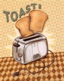 Nifty Fifties, Toast Print by Charlene Audrey