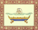 Bath Tubs III Print by Sheila Higton