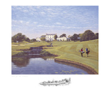 Druids Glen 18th Hole Collectable Print by P. Munro