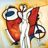 Ewige Liebe|Endless Love Kunstdruck von Alfred Gockel