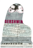 Gershwin Poster by Larry Rivers