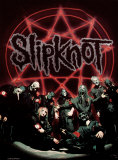 Slipknot - Below Pentagram in Circle Poster