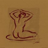 Body Language I Prints by Alfred Gockel