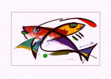 Fish Prints by Alfred Gockel