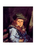 Young Boy Giclee Print by Robert Cozad Henri