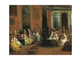 A Concert, Ca 1738 Giclee Print by Nicolas Lancret