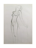 Nude, 1927 Giclee Print by Eric Gill