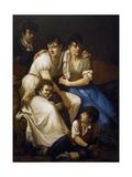 Family Portrait, 1807 Giclee Print by Francesco Hayez
