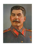 Portrait of Joseph Stalin Giclee Print