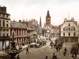 Dumfries Town Centre, Pub. C.1895 Photographic Print