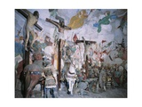 Chapel of Crucifixion Giclee Print by Gaudenzio Ferrari