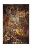 Deposition, 1541 Giclee Print by Daniele Da Volterra