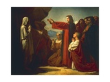 The Raising of Lazarus, 1857 Giclee Print by Leon Bonnat