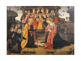 Adoration of Shepherds Giclee Print by Fiorenzo Di Lorenzo