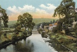 Matlock Bridge, on River Derwent Photographic Print by  English Photographer