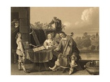 The Painter with His Family Giclee Print by David Teniers II