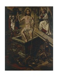 Resurrection of Christ Giclee Print by Bartolome Bermejo