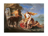 Thetis Entrusting Achilles to the Centaur, 1761 Giclee Print by Pompeo Girolamo Batoni