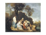 Moses Saved from River Giclee Print by Peter Lely