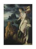 Glaucus and Scylla Giclee Print by Bartholomaeus Spranger
