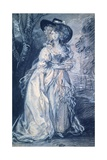 Lady in Trees Giclee Print by Thomas Gainsborough