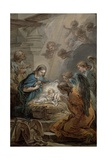 Nativity Giclee Print by Carle van Loo
