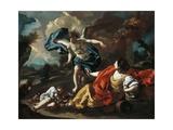 Hagar and Ishmael Giclee Print by Francesco de Mura