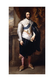 Portrait of Charles, Marquis De Vieuville Giclee Print by Sir Anthony van Dyck
