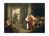 Alcibiades Amongst Hetaerae Giclee Print by Cosroe Dusi
