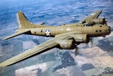 A Boeing B-17 Flying Fortress, 1944 Photographic Print