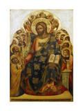 Jesus and St Peter Giclée-Druck von Lorenzo Veneziano
