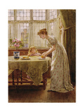 Afternoon Treat Giclee Print by George Goodwin Kilburne