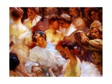 Carnival Giclee Print by Gaston De La Touche