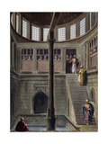 Nilometer, Engraving Giclee Print by Luigi Mayer