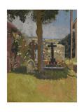 Chagford Churchyard, Devon, 1915 Giclee Print by Walter Richard Sickert