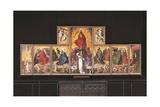 Last Judgment Altarpiece Giclée-Druck von Rogier van der Weyden