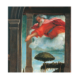 Recanati Annunciation Giclee Print by Lorenzo Lotto
