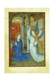 Annunciation, 1520's Giclee Print by Simon Bening