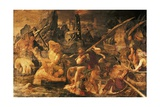 Naval Combat, Fresco Giclee Print by Rosso Fiorentino