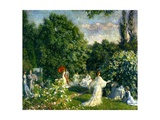 A Garden Party, C.1890-99 Giclee Print by Philip Leslie Hale