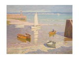 Low Tide, St Ives, Cornwall, C.1934 Giclee Print by Terrick Williams