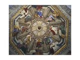 Frescoes of Dome, 1477 Giclee Print by Melozzo Da Forli
