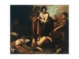 Noah's Drunkenness Giclee Print by Giovanni Andrea De Ferrari