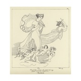 The Supplicants Giclee Print by John Flaxman