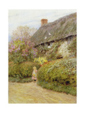 Freshwater Cottage Giclee Print by Helen Allingham